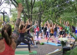 Community Yoga Class in Ybor